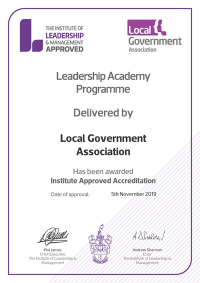 IA approved centre Leadership Academy