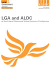 LGA and ALDC at the Liberal Democrat Virtual Autumn Conference, 25-28 September 2020 COVER