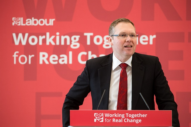 Nick Forbes Labour conference