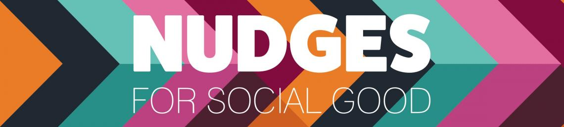 Nudges for social good podcast banner