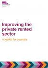 Improving the private rented sector: a guide for councils