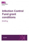 LGA briefing: Infection Control Fund Grant Conditions - pdf cover
