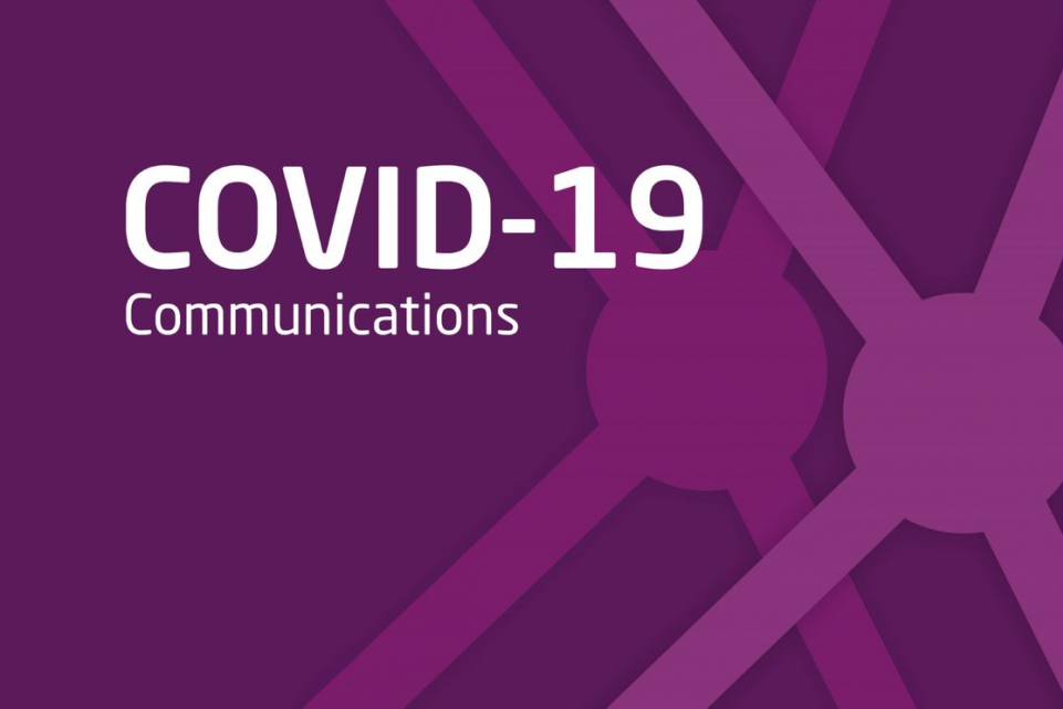 COVID-19: communications