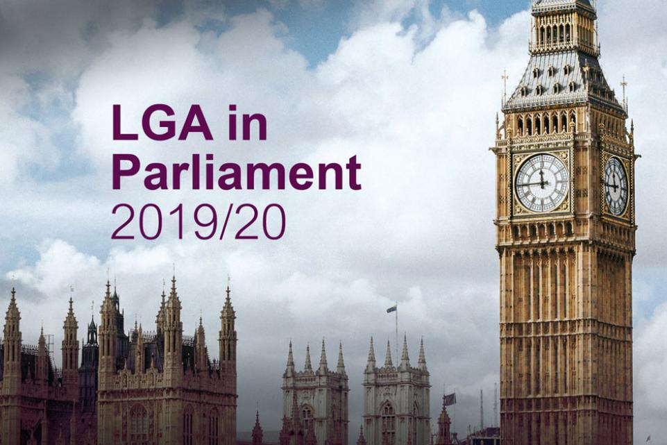 LGA in Parliament 2019/20