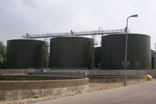 Anaerobic digestion plant in Leicester