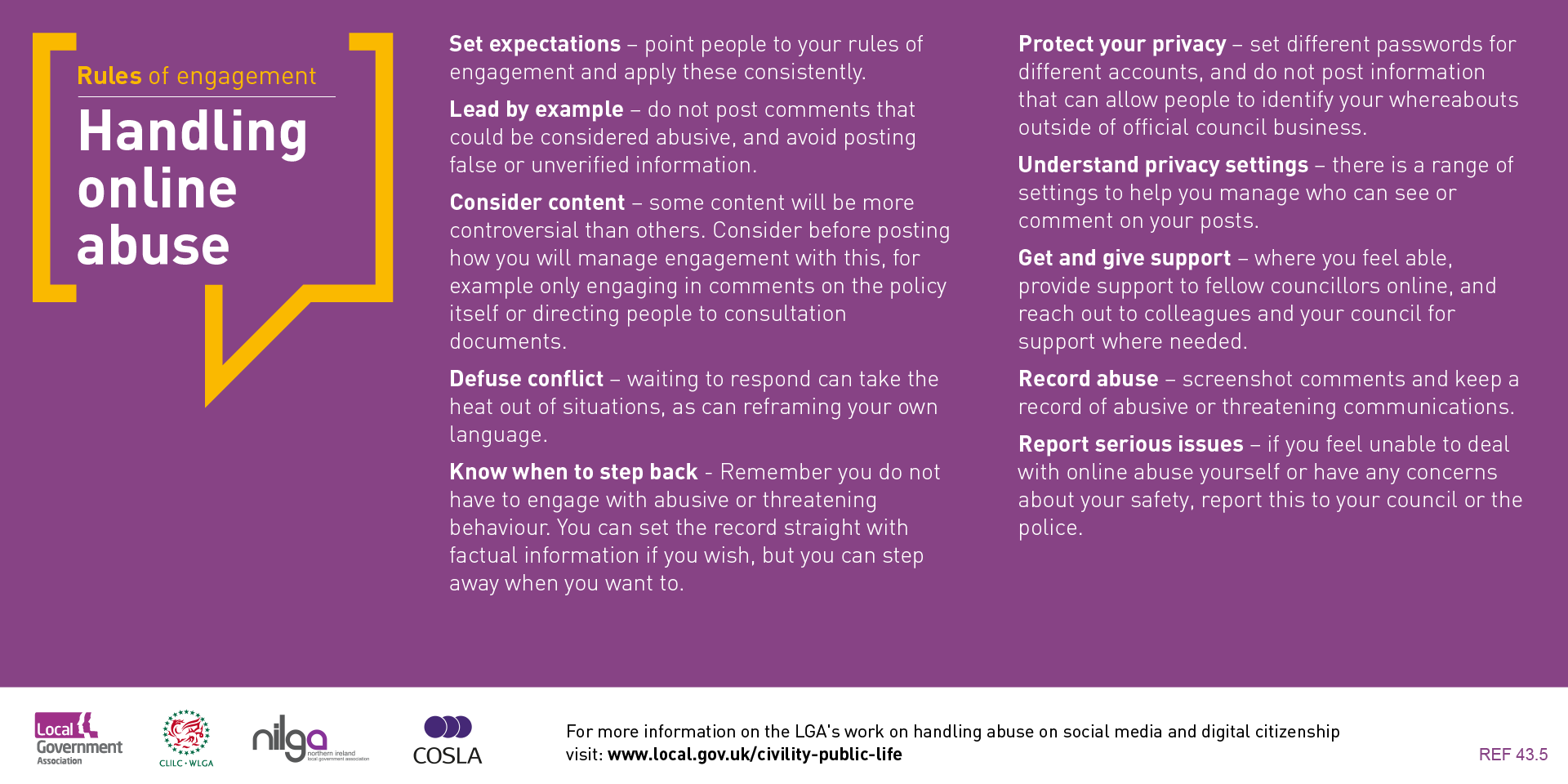 Handling Online Abuse