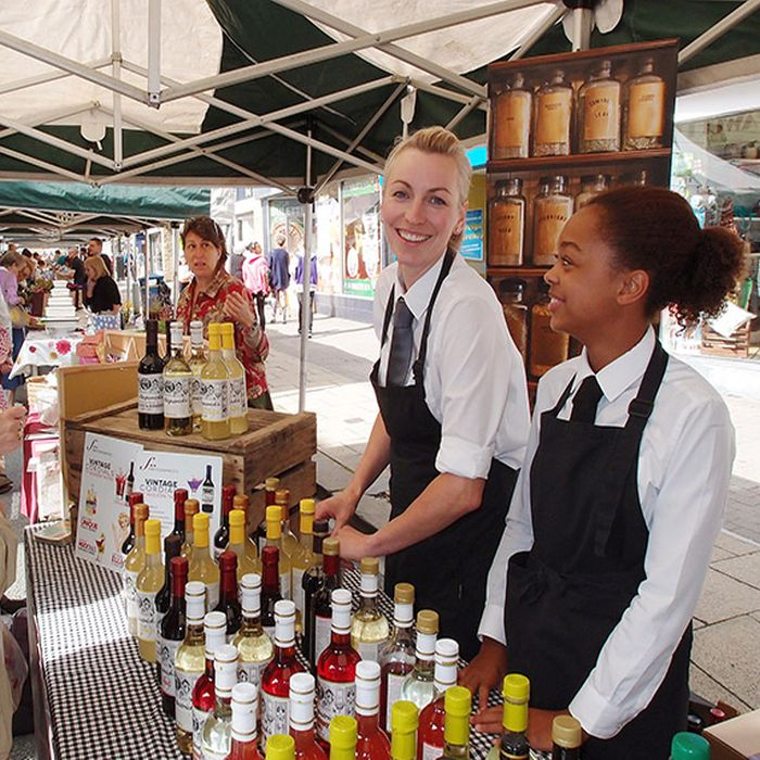 Brighouse Spring Market - credit Calderdale Council