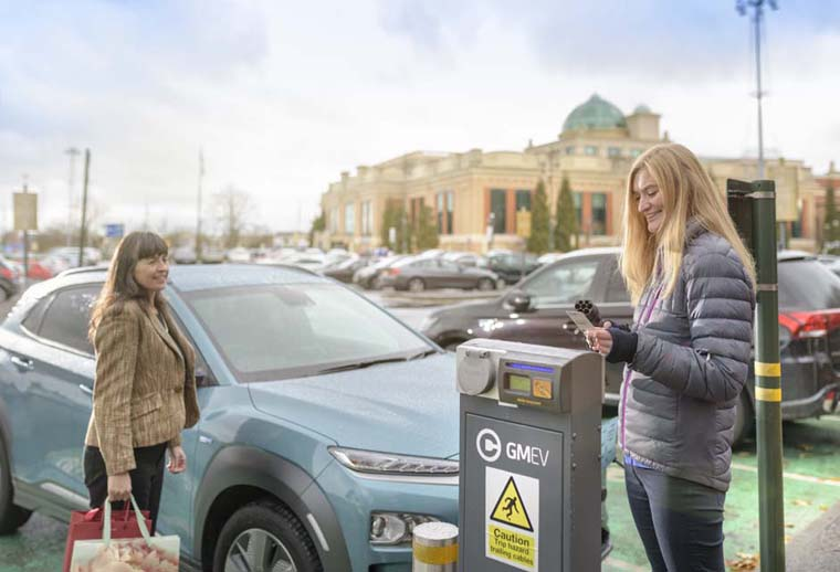 Electric vehicles greater manchester