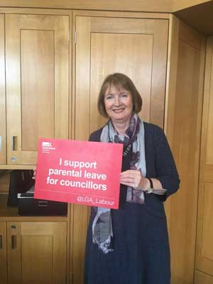 Harriet Harman on parental leave