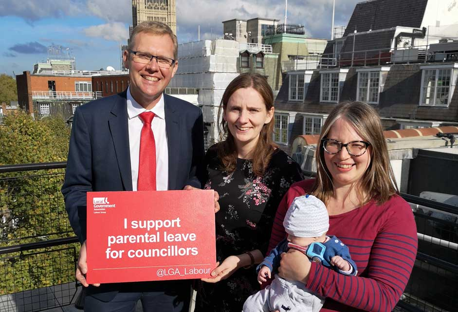 LGA Labour Group - on parental leave