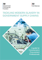 Tackling modern slavery in Government supply chains COVER