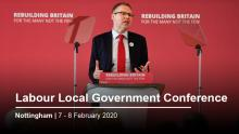 Labour Local Government Conference, 7-8 February