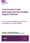 Cover image Good Practice Guide Delivering Financial Hardship Support Schemes