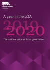 A year in the LGA 2020 front cover