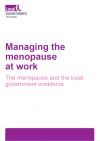 Managing the menopause at work