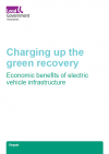 Charging up the green recovery front page