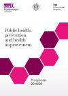 Public health, prevention and health improvement