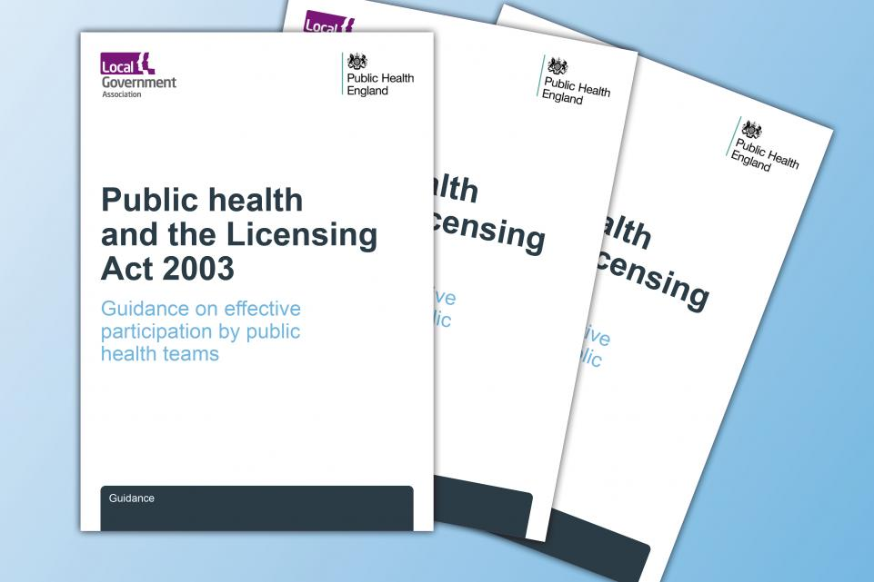 Public health and licensing publication feature image