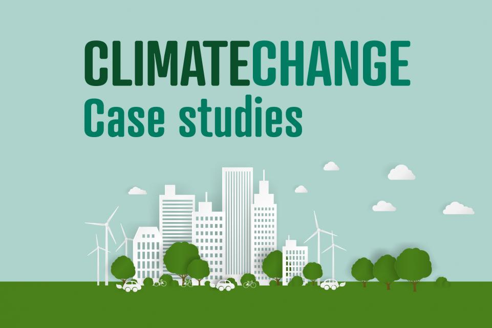 Climate change hub case studies graphic