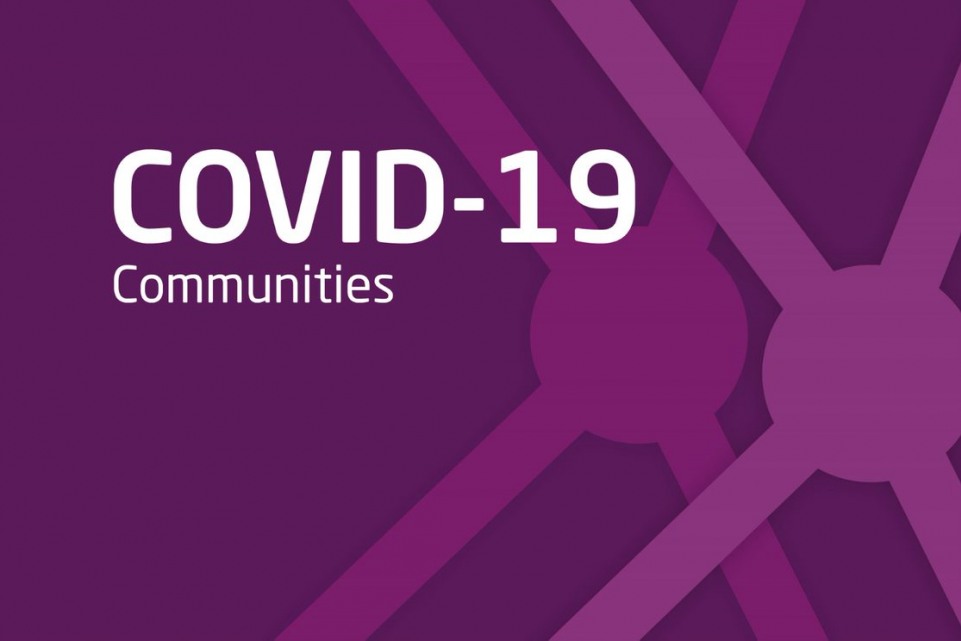 Communities support for COVID-19