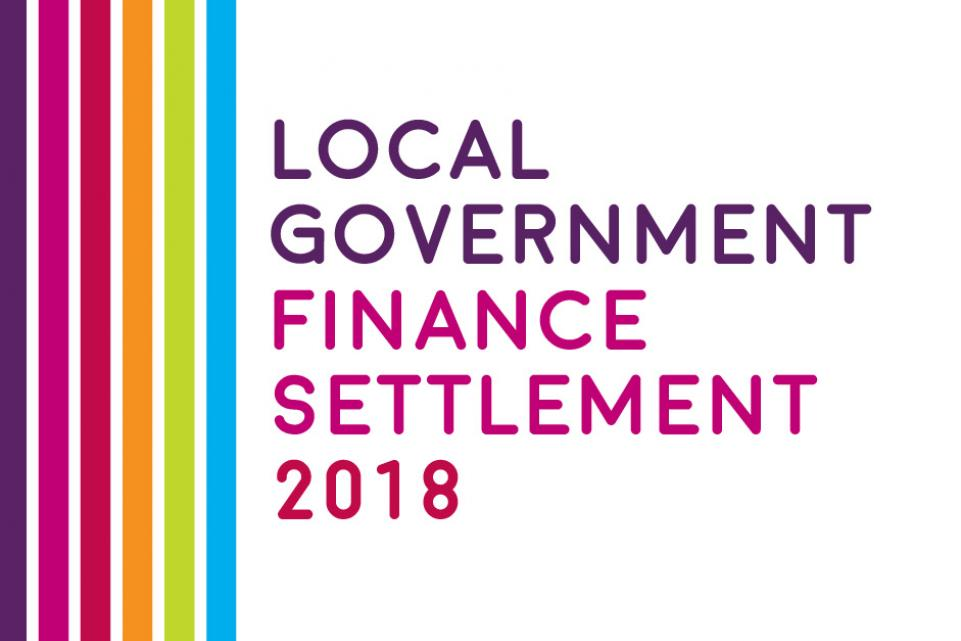 Local Government Finance Settlement 2018