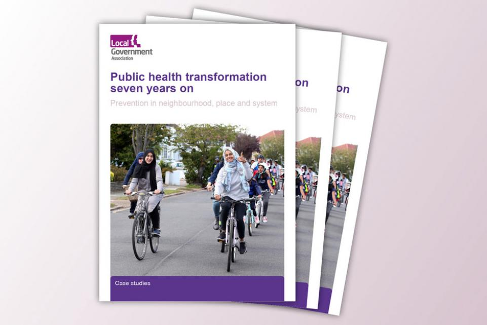 Public health transformation seven years on: prevention in neighbourhood, place and system FEATURE IMAGE