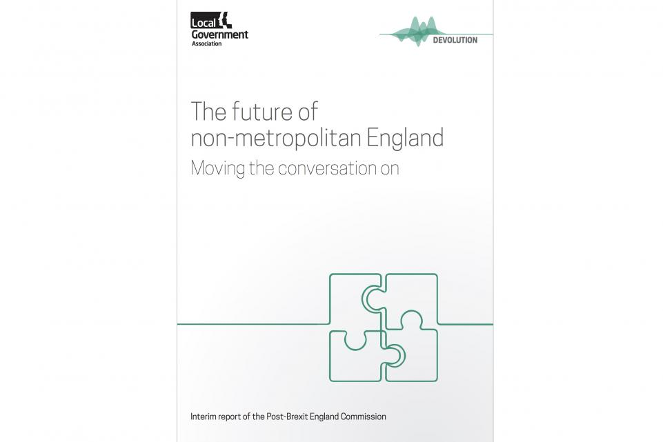 The future of non-metropolitan England: Moving the conversation on - the interim report