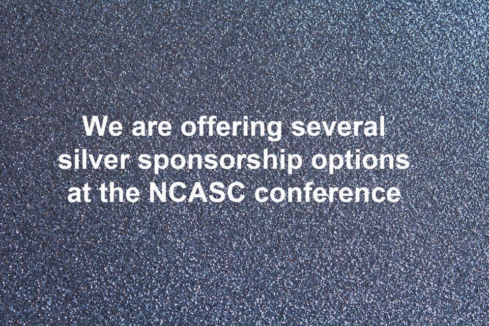 NCASC silver sponsors