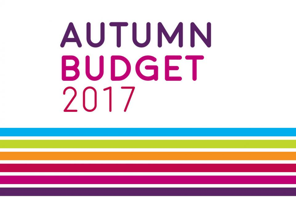 Autumn Budget 2017 - on the day updates